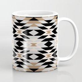 New Mexico in Tan Coffee Mug