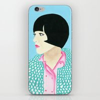 anna iPhone & iPod Skins featuring Anna by kate gabrielle