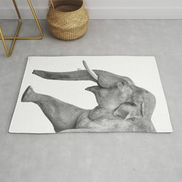 Asian Elephant Rug