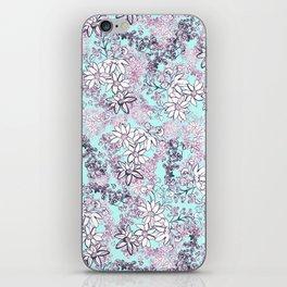 Ditzy Print iPhone Skin