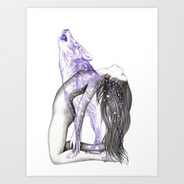 Wolves In You Art Print