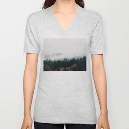 Forest Fog Unisex V-Neck