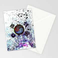 in to the sky, circuit board (south korea) Stationery Cards