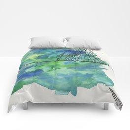 GREEN FOG Comforters