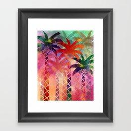 Date Palm Oasis Framed Art Print