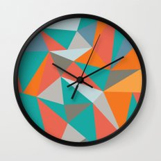 Summer Deconstructed Wall Clock