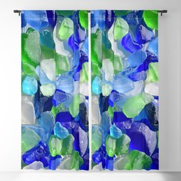 Sea Glass Blackout Curtain