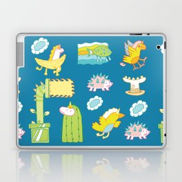 Unicorn Pattern Laptop & iPad Skin