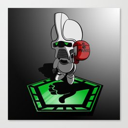 The Hitchhikers Guide to the Galactica Canvas Print