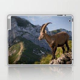 Capricorn in the Alps Laptop & iPad Skin