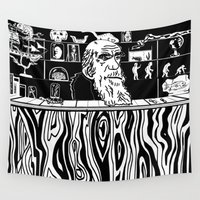 darwin Wall Tapestries featuring Darwin's World by Kleidermacher