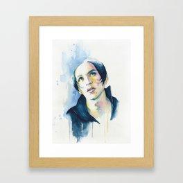 Brian Molko (Nancy boy) Framed Art Print