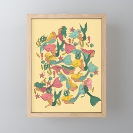 Mermaid Dreams Framed Mini Art Print