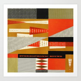 STEREOPHONIC SOUND Art Print