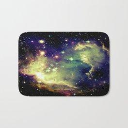 Nebula Galaxy (deep pastels) Bath Mat