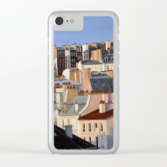 Monmartr Clear iPhone Case