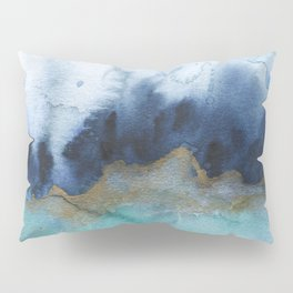 Mystic abstract watercolor Pillow Sham