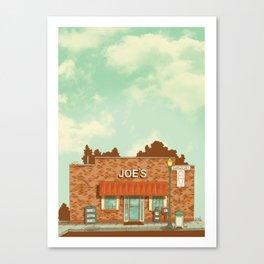Joe's Ice Cream Canvas Print