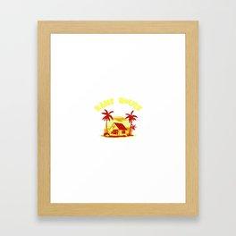 MASTER ROSHI KAME HOUSE SUPER Framed Art Print