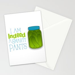 I am indeed a smarty pants. Stationery Cards