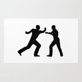 Fight Scene Rug