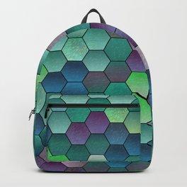 Honeycomb hexagonal Backpack