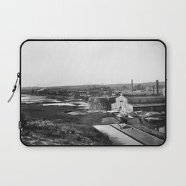 Redondo Salt Works, California, ca.1895-1910 Laptop Sleeve