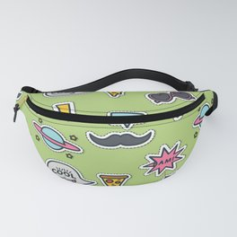 Party mix pattern Fanny Pack