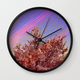 Comet Sky Wall Clock