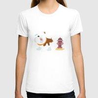 english bulldog T-shirts featuring English bulldog by Fabio Rex