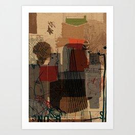 unfolded 21 Art Print