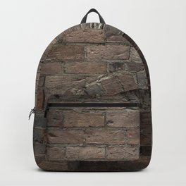 Brick Fireplace Backpack
