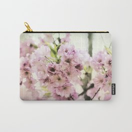 vintage cherry blossom Carry-All Pouch