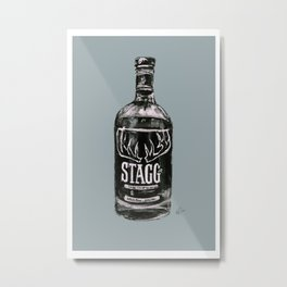 Stagg jr Metal Print