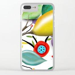 Cinque Terre - Lemons Lemon - Italian Riviera - Limoni Lemon Pattern Home Decor Clear iPhone Case