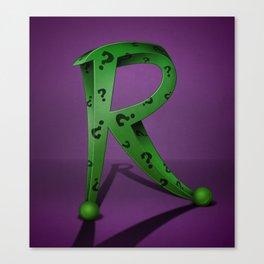 Superbet 'R' Canvas Print