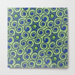 Pattern C Metal Print