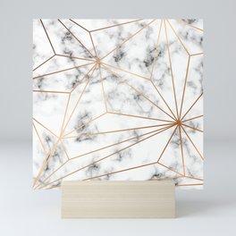 Marble & Gold 046 Mini Art Print