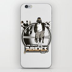 The Force Abides iPhone Skin