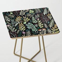 Dark Botanic Side Table