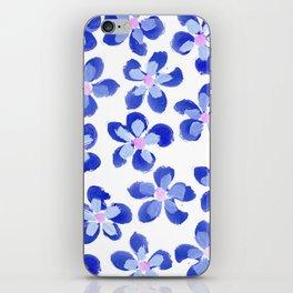 Posey Power - Ink Blue Multi iPhone Skin
