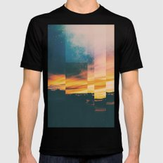 Fractions A54 Black Mens Fitted Tee X-LARGE