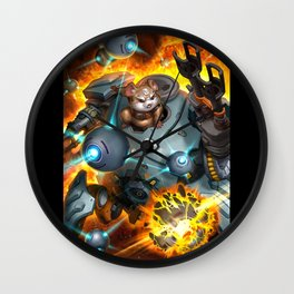 over hammond watch Wall Clock