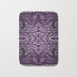 Abstract #1 - VIII - Purple Bath Mat