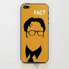 Dwight Schrute iPhone & iPod Skin