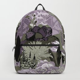 Succulents Art Backpack