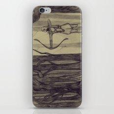 Legolas LOTR - the noisy silence of woods iPhone & iPod Skin