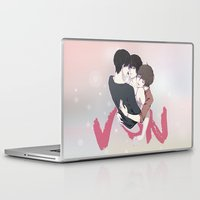 yaoi Laptop & iPad Skins featuring Zankyou No Terror by Neo Crystal Tokyo