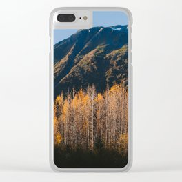Autumn in Kenai Fjords National Park II Clear iPhone Case