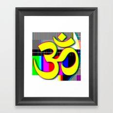 OM ETERNAL SOUND Framed Art Print